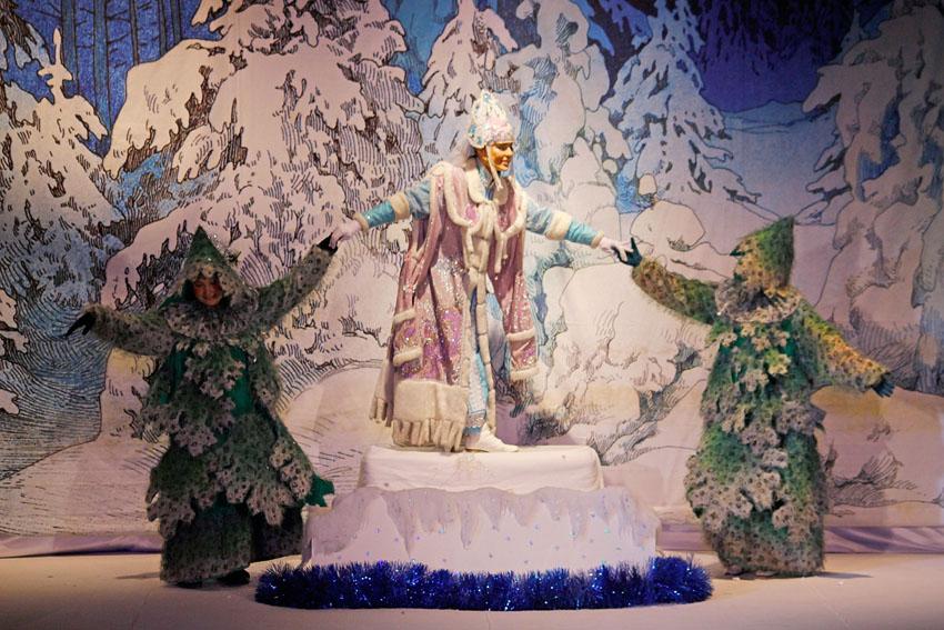 «Приключения Снеговика в новогоднем сказочном лесу»