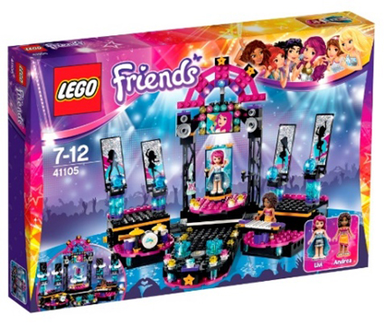 LEGO Friends «Поп-звезда: сцена»