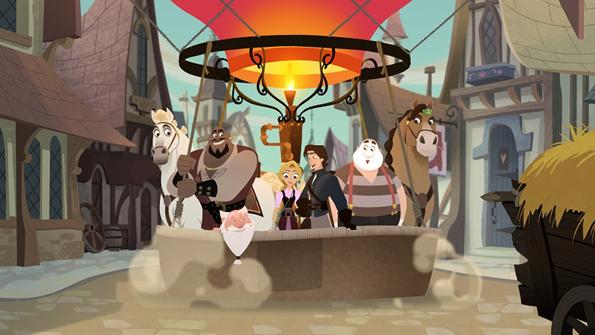 Возвращение Рапунцель! Новые приключения принцессы